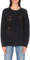 Sandro Ivy wool-blend jumper