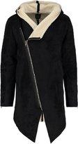 Black Kaviar Koperni Faux Leather Jacket Black