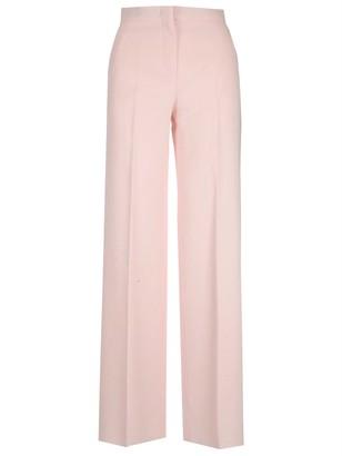 Max Mara High Waist Crepe Trousers