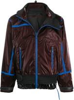 Givenchy oversized contrasting trim jacket