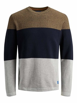 Jack and Jones Men's Jorflash Crew Neck Jumper
