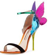 Sophia Webster Chiara Butterfly Wing Ankle-Wrap Sandal