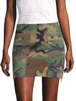 KENDALL + KYLIE Camo-Print Skirt