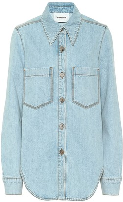 Nanushka Seint denim shirt