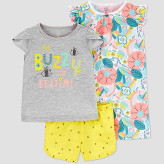 Just One You Made By Carter's Toddler Girls' 3pc 'Bee' Pajama Set - Just One You® made by carter's