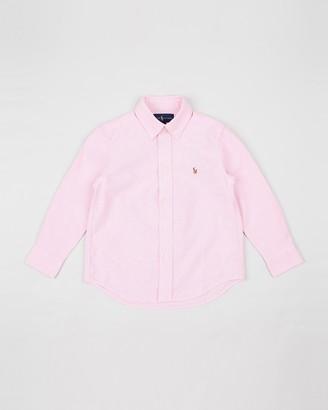 Polo Ralph Lauren Solid Oxford Shirt - Kids