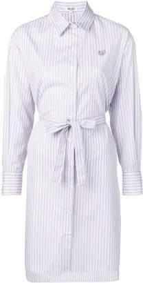 Kenzo striped shirt-style dress