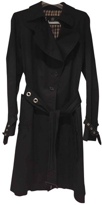 Aquascutum London Navy Cotton Coat for Women