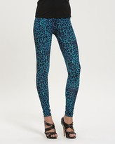 Wild Cheetah-Print Jersey Leggings