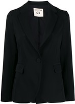 Semi-Couture Semicouture fitted single-breasted blazer