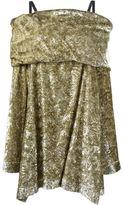 Isa Arfen drop shoulder mini dress