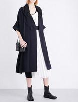 Y's Ys Oversized linen-blend coat