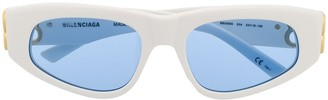Balenciaga Eyewear Cat-Eye Frame Tinted Sunglasses