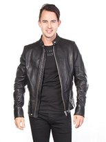 Diesel Men's L-Roshi Leather Jacket