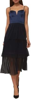 Adelyn Rae Lanaya Tiered Fit Flare Dress