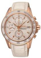 Seiko Women's SNDX98 Sportura Classic Chronograph Watch