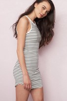 Garage High Neck Bodycon Dress