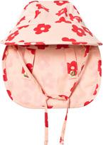 Mini Rodini Pink Blossom Sun Cap