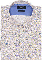 Original Penguin Linen Print Dress Shirt