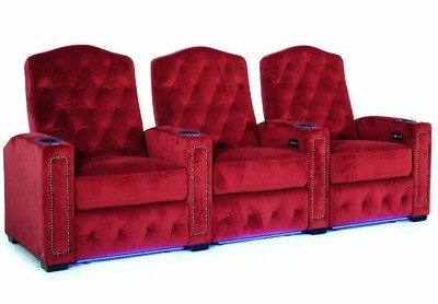Thumbnail for your product : Winston Porter HR Series Home Theater Row Seating (Row of 3)