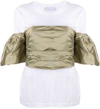 Erika Cavallini Off-The-Shoulder Ruched Top