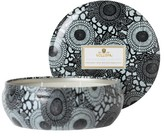 Voluspa Japonica Black 3 Wick Decorative Tin Candle - French Cade & Lavender