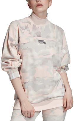 adidas Cotton Camo Sweatshirt