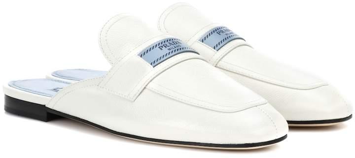 Prada Leather slippers