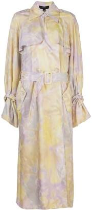 Ellery Tie Dye Print Trench Coat