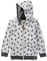 Sovereign Code Ludwig Dino Zip-Up Hoodie (Toddler & Little Boys)