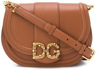 Dolce & Gabbana logo plaque shoulder bag
