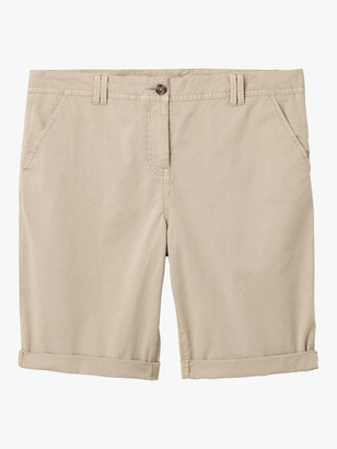 White Stuff Helter Chino Shorts, Stone