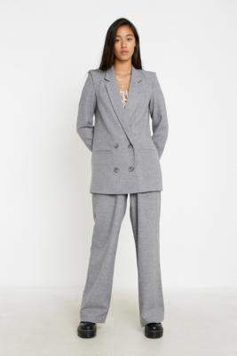 Gestuz Grey Tailored Jacket - grey 34W at Urban Outfitters