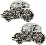Softail Motorbike Cufflinks | British Made | Cuffs & Co