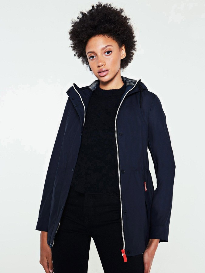 Thumbnail for your product : Hunter Original Lightweight Rubberised Jacket - Navy