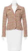 Chanel Tweed Linen-Blend Blazer