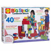 Alex Big Stack Cardboard Blocks 40-pc. Discovery Toy