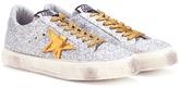 Golden Goose Deluxe Brand May glitter sneakers