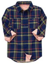 Crazy 8 Plaid Doubleweave Shirt