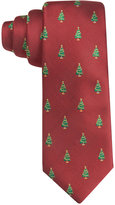Club Room Men's Christmas Tree Neat Tie, Only at Macy's
