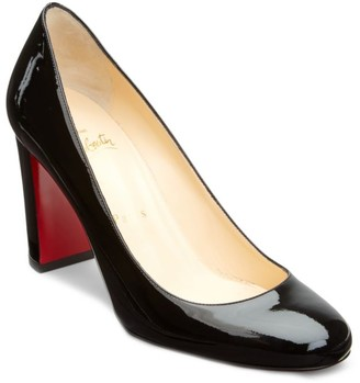 Christian Louboutin Lady Gena Patent Leather Pumps