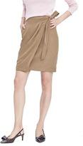 Banana Republic One-Pocket Wrap Skirt