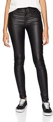 Dr. Denim Women's Plenty Skinny Jeans, (Black Metal A)