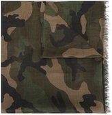 Valentino Garavani Valentino camouflage scarf - men - Cashmere/Silk/Modal - One Size