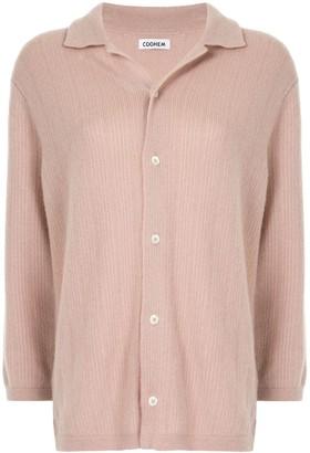 Coohem Cashmere Stripe Knit Shirt