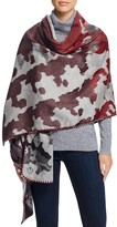 Fraas Whip Stitch Camouflage Wrap Scarf