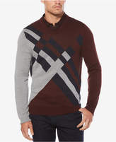 Perry Ellis Men's Argyle Sweater