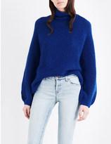 By Malene Birger Balero knitted turtleneck jumper
