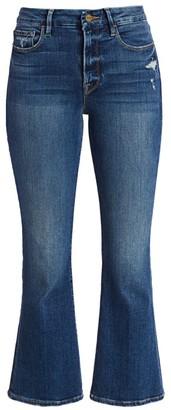 Frame Le Crop High-Rise Bootcut Jeans