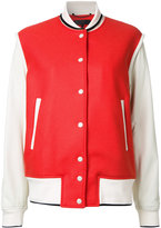 Rag & Bone contrast bomber jacket